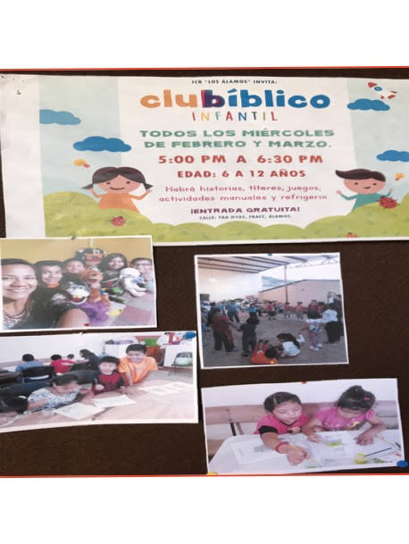 Bible Club Poster